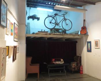 """2015-01 """"EL ASOMBRO DEL COLMILLO"""" en la Librería espacio artístico Le Petit Canibaal, Valencia."""